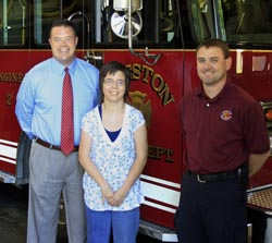 Fire Department Scholarship Recipient
