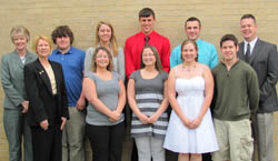 Creston Rotary Scholarship Recipients