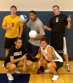 Intramural Volleyball Champions