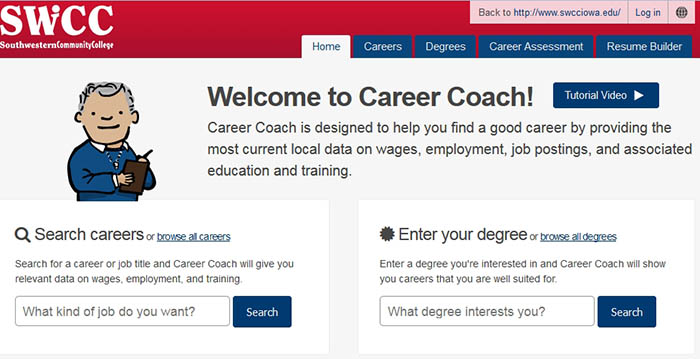 Career Coach Web Page