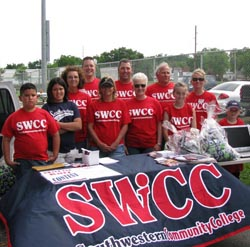Part of the SWCC volunteers