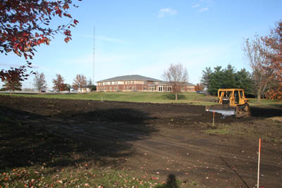October 2009 Construction on New SWCC Dorm