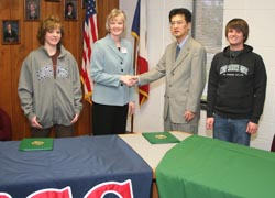 SWCC and Northwest Missouri State Sign Partnership Agreement