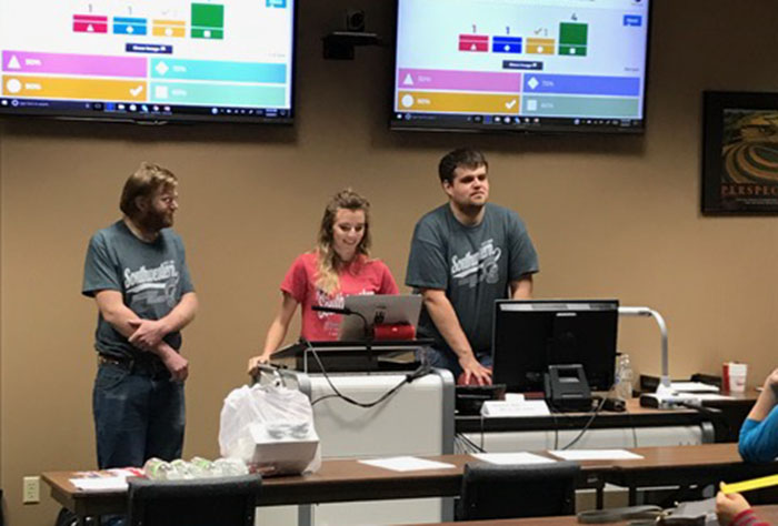 SWCC Ag Students Presenting