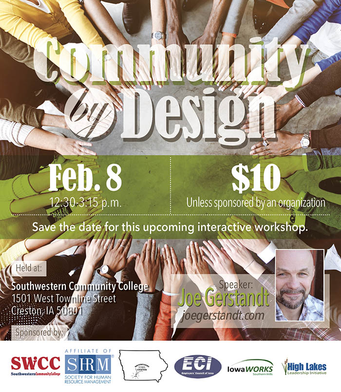 Community by Design workshop graphic