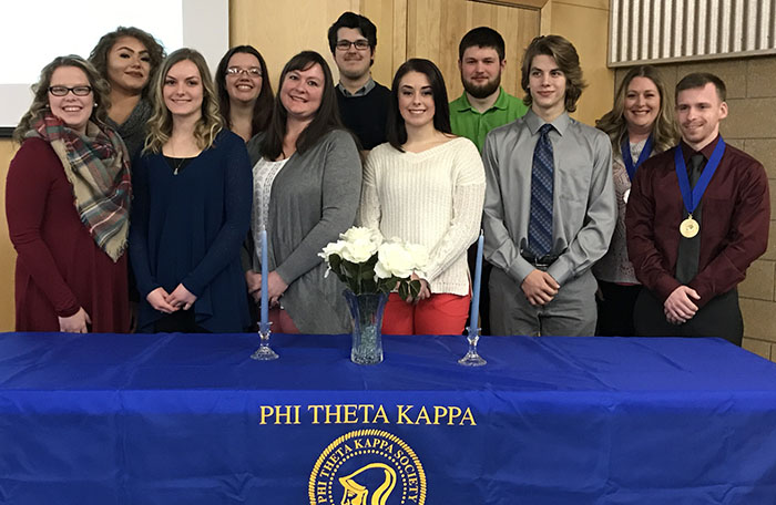 New PTK Inductees