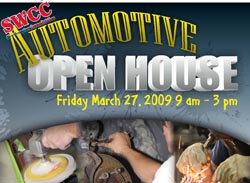Automotive Open House Poster