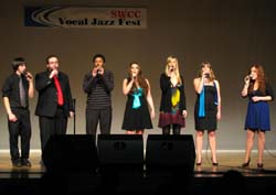 SWCC Vocal Jazz Group Performing