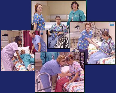 Nursing Care collage