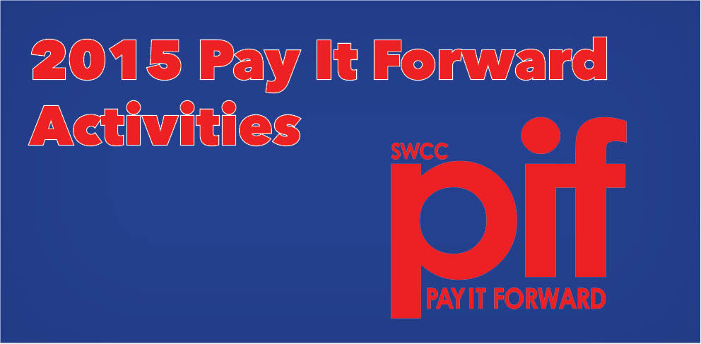 2015 Pay It Forward Activities