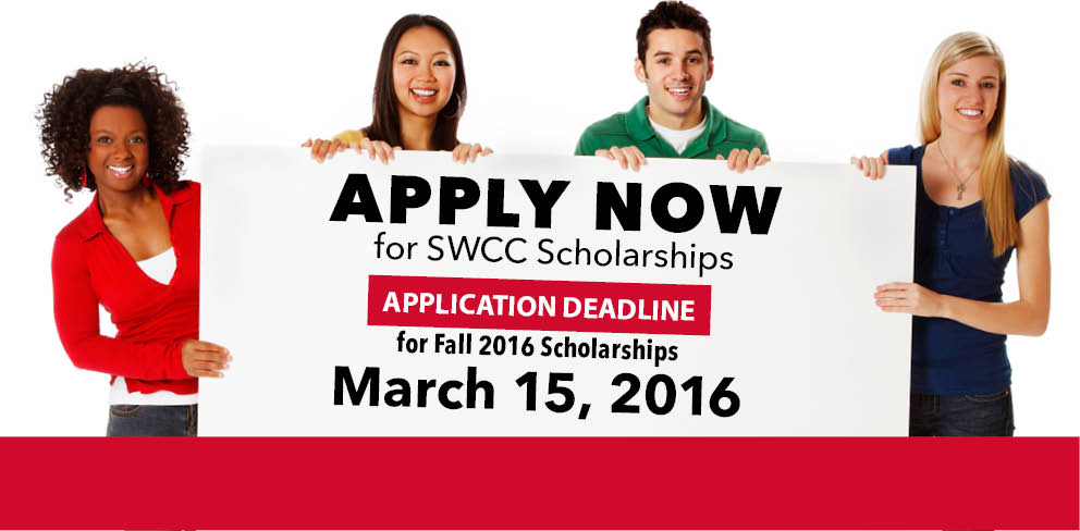 Apply now for Fall 2016 SWCC scholarships