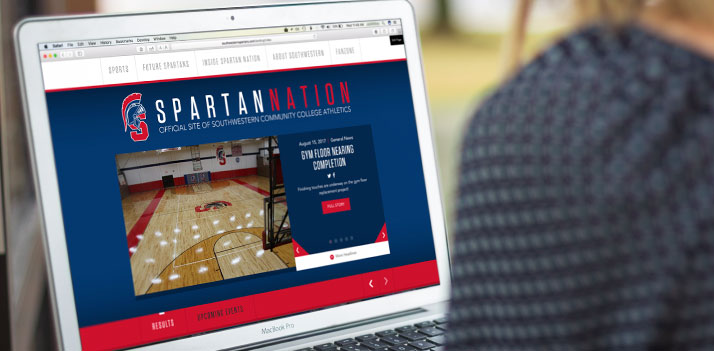 Spartan Nation Website