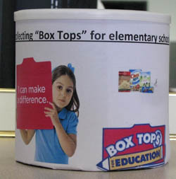 Box Top Collection Tubs