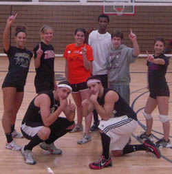 The Dream Team 2009 Intramural Volleyball