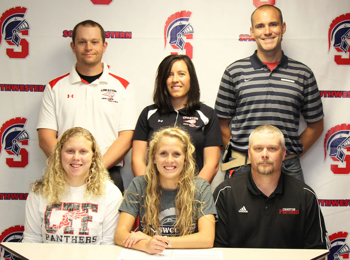 Raegen Smith signs with SWCC Track and Field