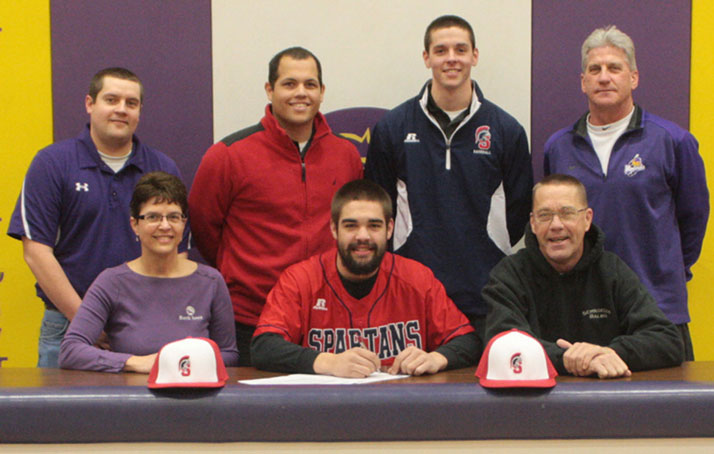 Sean Houston signs with SWCC baseball