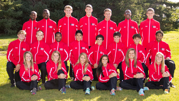2014 SWCC Cross Country Team
