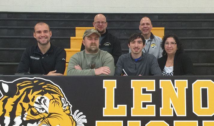 Jacob Bolinger Signs with Spartans