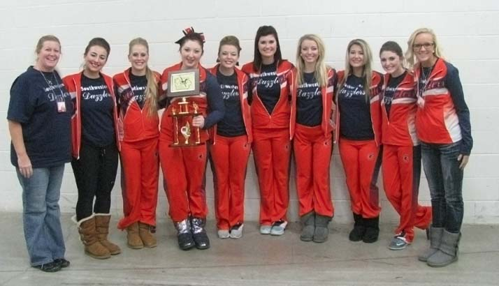 SWCC Dazzlers at State Competition