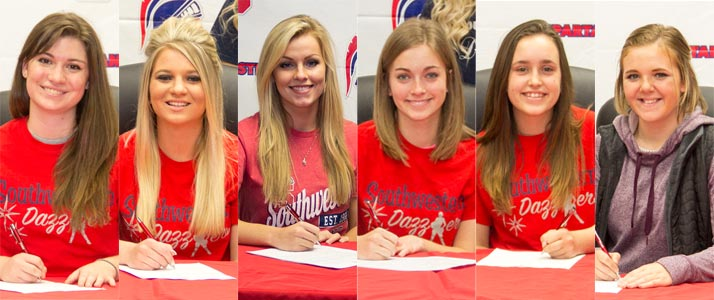 SWCC Drill Team Adds Six