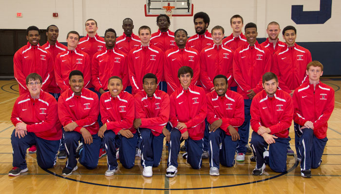 2014-2015 Spartan Men's Basketball Team