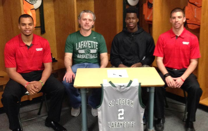 O'Shaye Kirby Signs with Spartan Men's Basketball