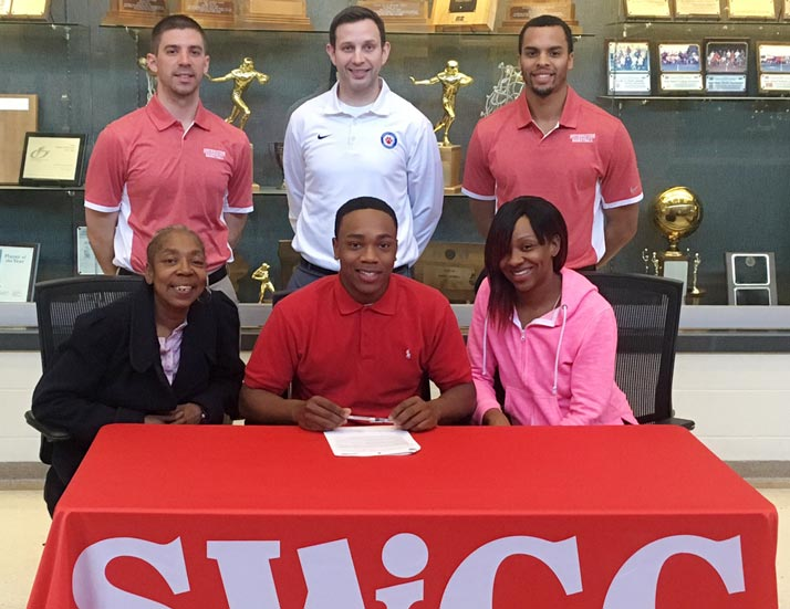 TreVonte Jones signs with Spartan Men's Basketball