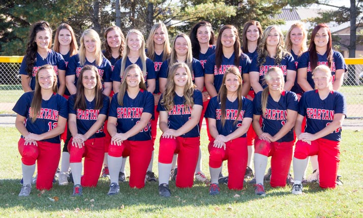 2015-2016 SWCC Softball Team