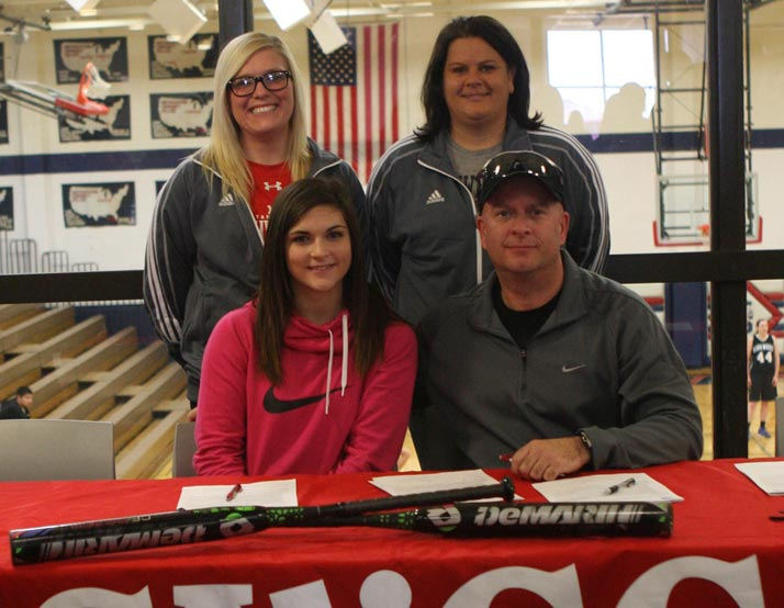 Kassie Craig signs with SWCC