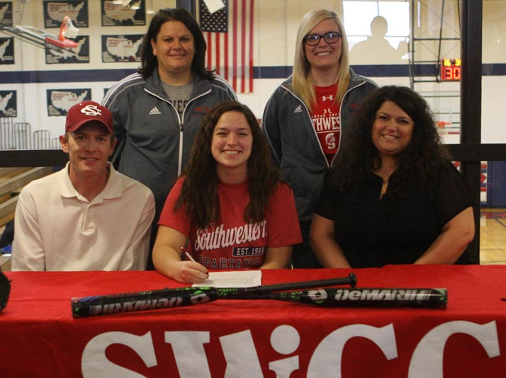 Abby Davis signs with SWCC