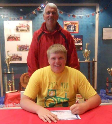 Weston Brokaw signs with Spartan Sports Shooting