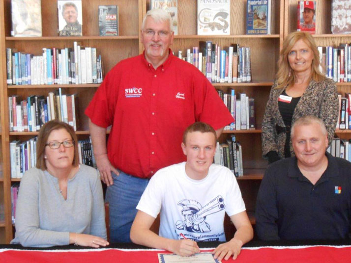 Brett Maxwell signs with SWCC Sports Shooting