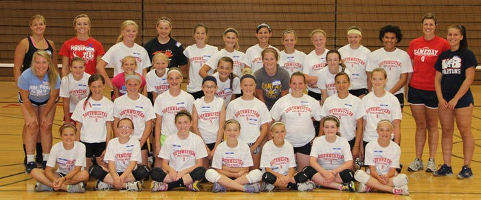 volleyball camp 2013