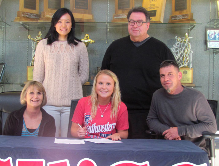 Krechele Brown signs to SWCC Volleyball