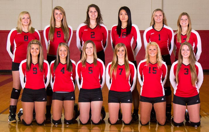2015 SWCC Volleyball Team