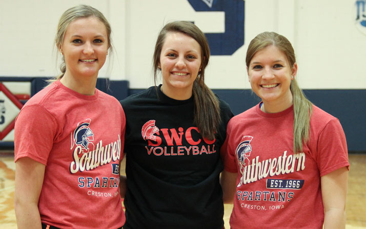 Spartans named to ICCAC Volleyball Academic All-Region Teams