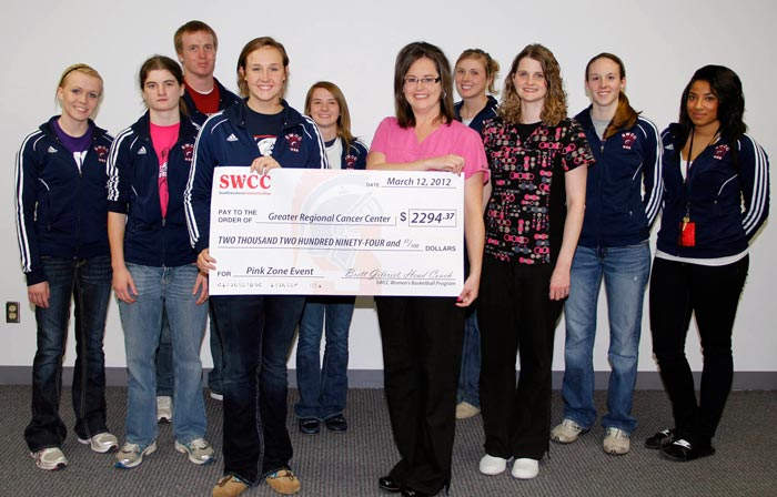 Greater Regional Check Presentation