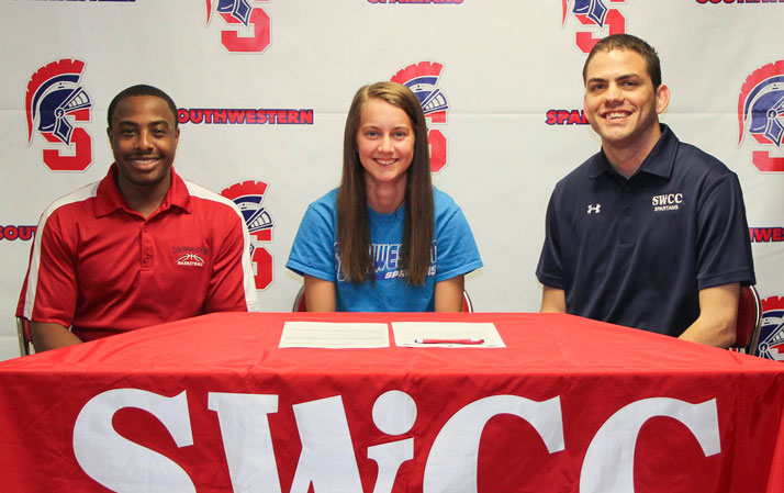 Klarissa McElroy Signs with the Spartans