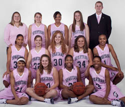 SWCC Women's Basketball Team