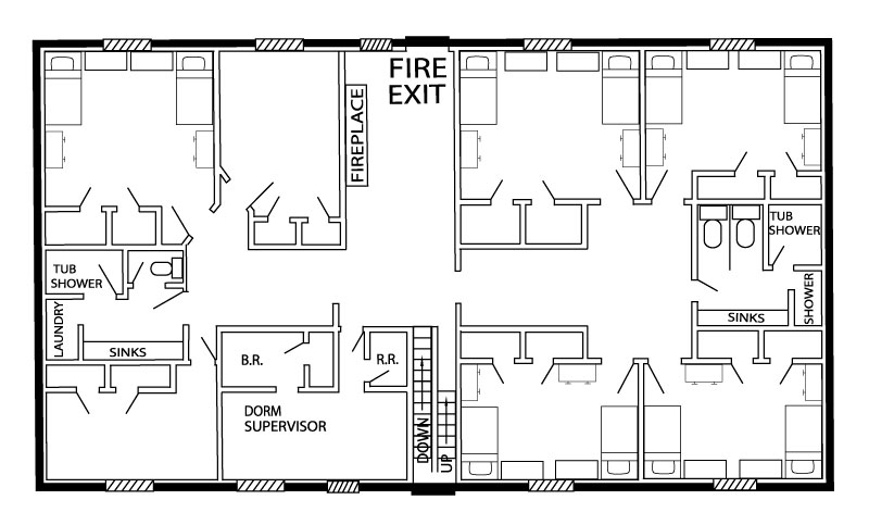 Wilson Hall layout