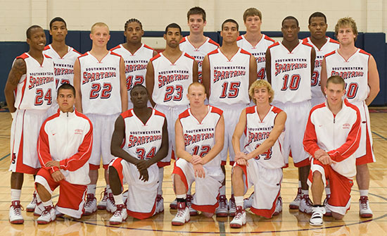 SWCC Men's Basketball Team