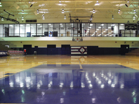 The Gym from the floor