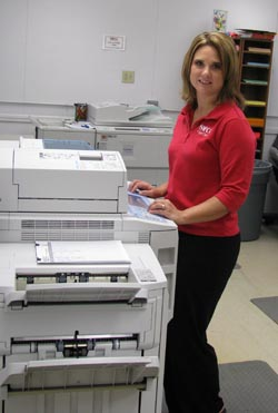 Copy Center Manager at Copier