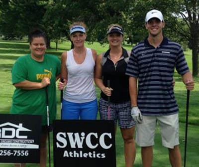 SWCC employees Lindsay Stumpff, Tracey Evans, Beth Kulow, and Kenny Namanny