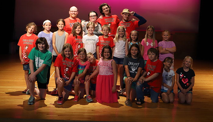 2018 Drama Camp attendees