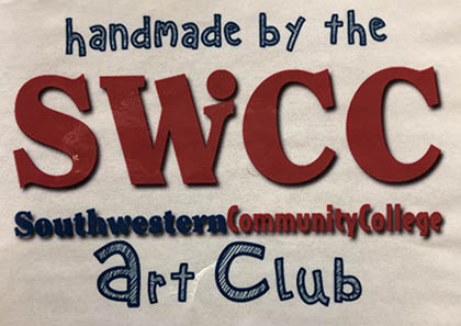 Handmade by the SWCC Art Club logo