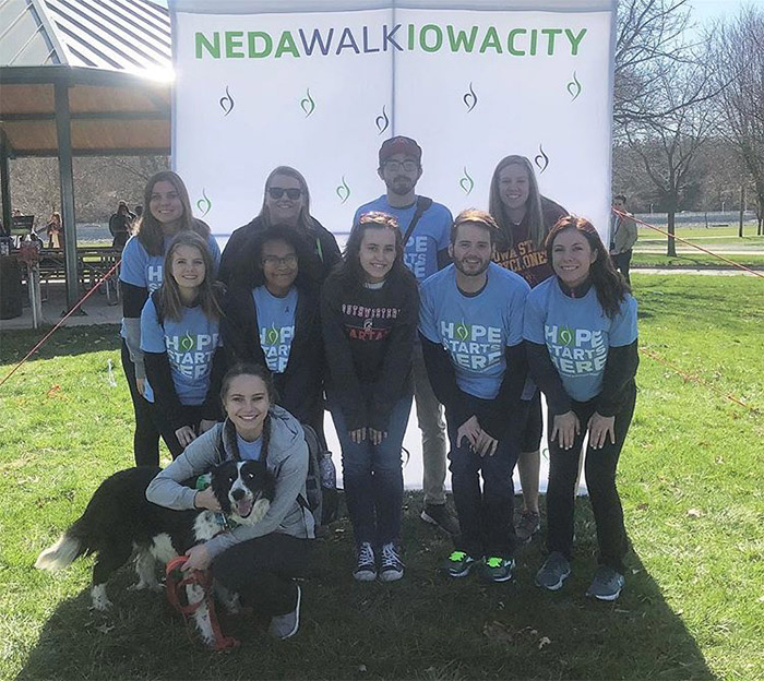NEDA Walk participants