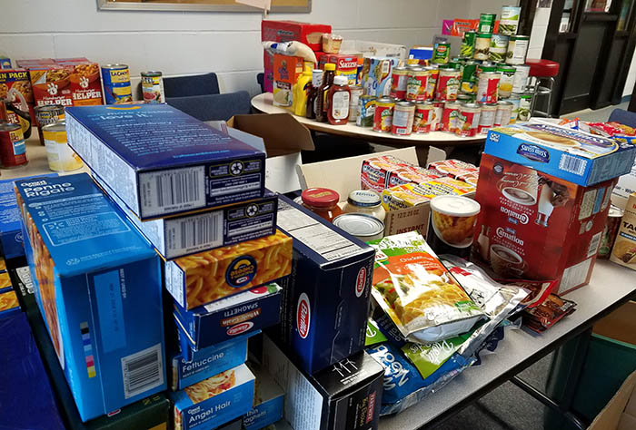 PTK Food Drive Items
