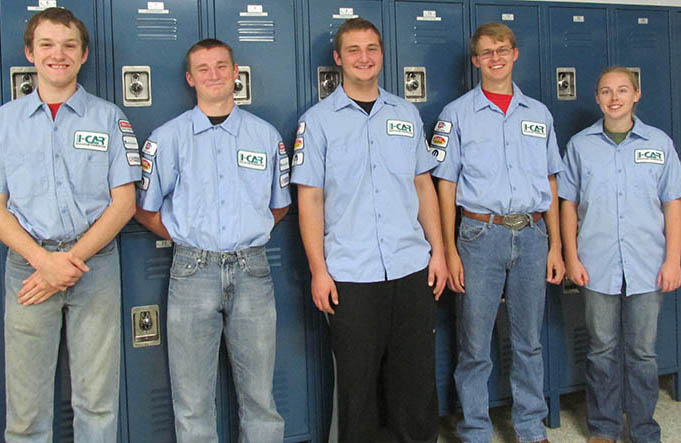 Collision Repair Club Officers