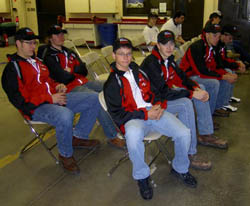 SWCC Students at 2010 AAA Auto Skills Competition